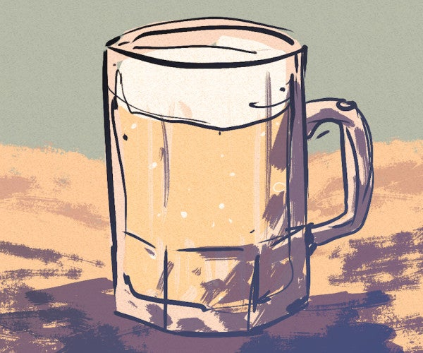 What enlisted troops drink at every stage of their careers