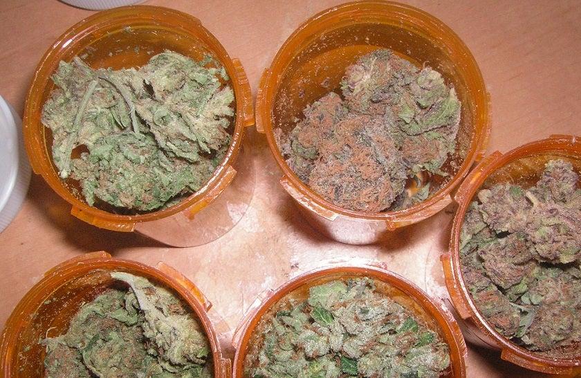 Cannabis in Pill Bottles