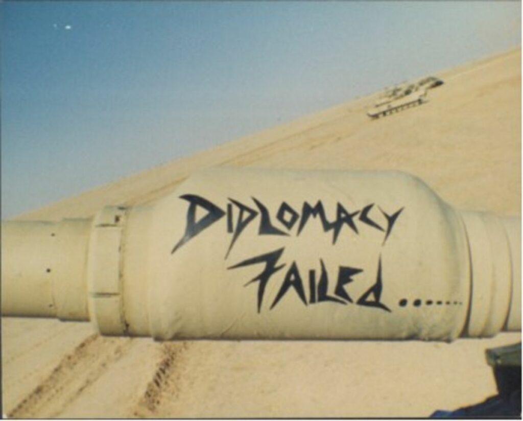 Diplomacy Failed