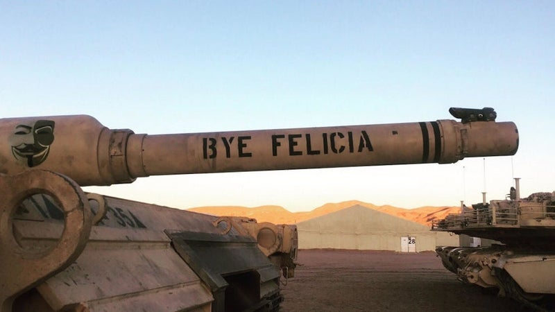 'Diplomacy failed,' 'bye Felicia,' and 27 other incredible tank names