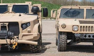 The Air Force is finally ditching the Humvee for the Army's new battlewagon