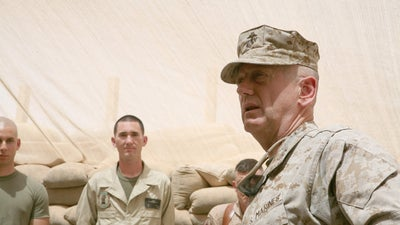 Mattis explains what every leader should know about leading troops into combat