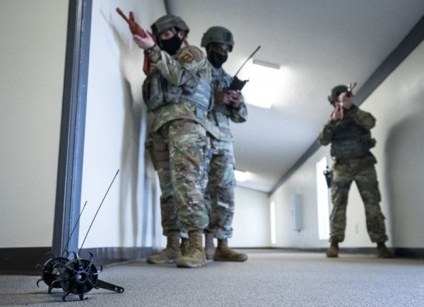 The Air Force is going full 'Rainbow Six' with its new throwable scout robots
