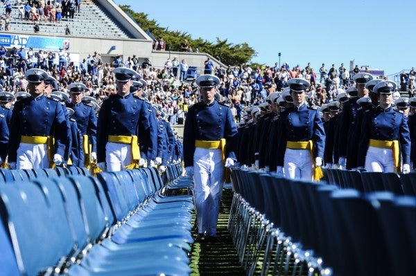 The Air Force fight song just became completely gender-neutral