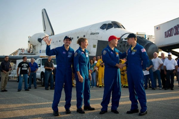 The Marine and airman crewing America's first manned space launch in years are best buds