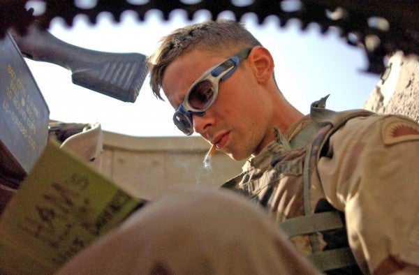 Army bases prepare for new ban on under-21 tobacco sales