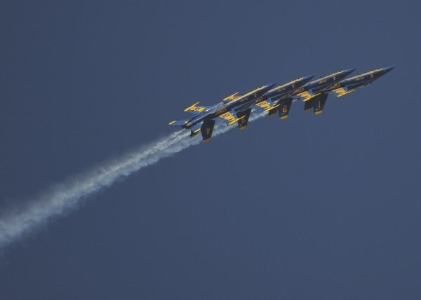 Blue Angels and Thunderbirds to fly over multiple cities to support health care workers battling COVID-19, Trump says