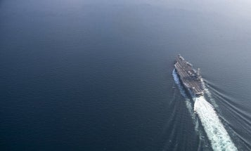 The Harry S. Truman carrier strike group is staying at sea to avoid COVID-19 exposure