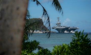Onshore quarantine of USS Theodore Roosevelt sailors begins in Guam