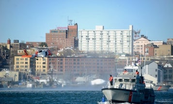 A NJ man called the Coast Guard after gun-toting neighbors attempted to impose a quarantine on him in Maine