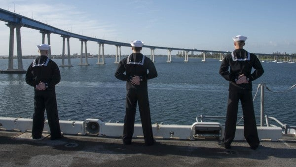 5 more San Diego shipboard sailors test positive for COVID-19 as Navy stops naming infected ships