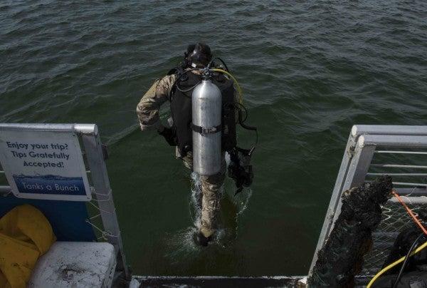 Special tactics airman dies during training swim in Florida