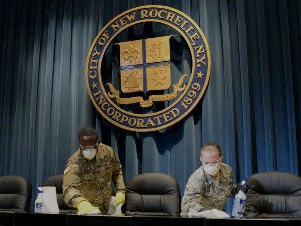 Pentagon mobilizes 1,500 National Guard troops to help battle coronavirus