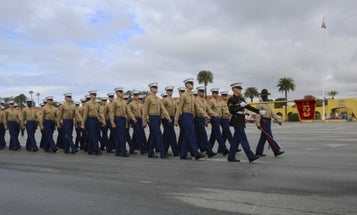 San Diego Marine Corps boot camp suspends all public graduations