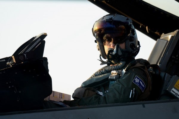 'I'm driven by competition' — What it takes to become the Air Force's top fighter pilot