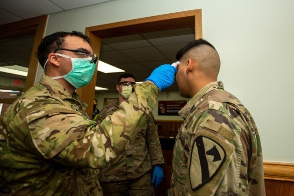 Service chiefs say coronavirus has no 'significant' impact on military readiness