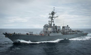 The USS Kidd is finally back at sea after six weeks sidelined by COVID-19