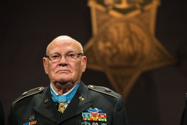 Special Forces legend and Medal of Honor recipient Bennie Adkins hospitalized with COVID-19
