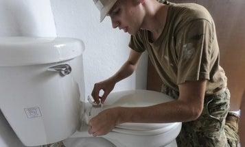 Navy's newest aircraft carriers have clogged toilets that cost $400k to fix, report says