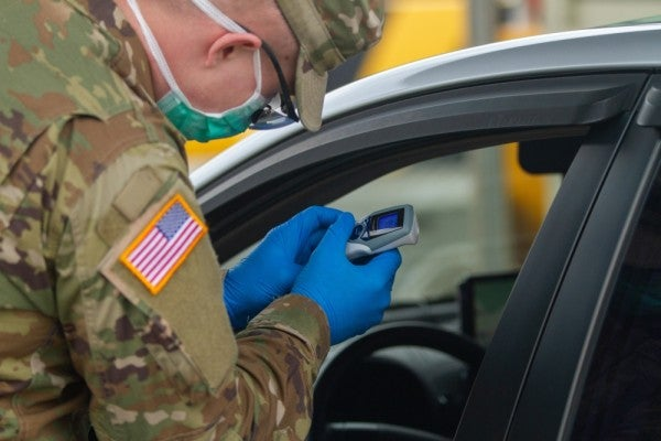 Military deploys first coronavirus test kits, though capacity is limited