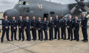 Air Force crew receives medals for 'legendary airmanship' in 9-hour firefight against ISIS stronghold in Afghanistan