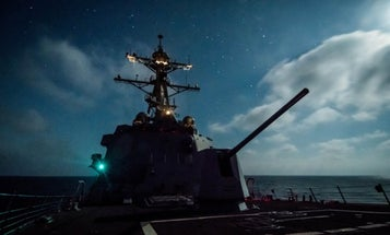 The Navy just installed a laser on a destroyer to counter incoming drones