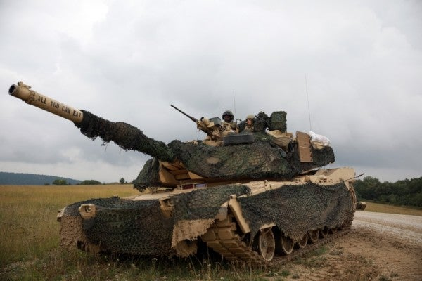 We salute the Army crew who named their tank 'All You Can Eat'