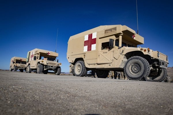 The US military may set up field hospitals and more to address the coronavirus pandemic