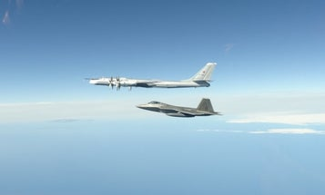 US fighter jets intercept 2 Russian bomber formations in eighth Alaskan incursion this year