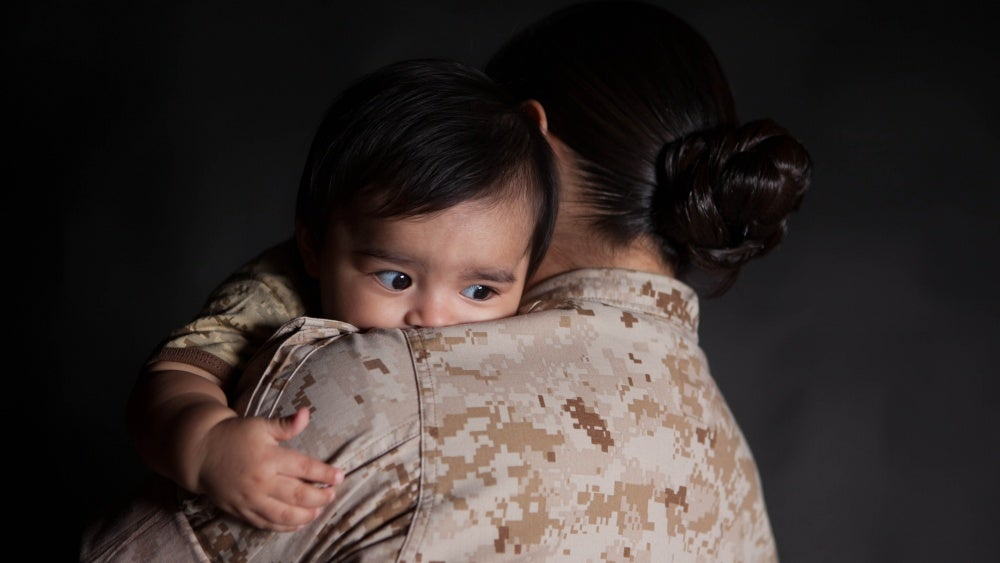 No, military women are not getting pregnant to avoid deployment