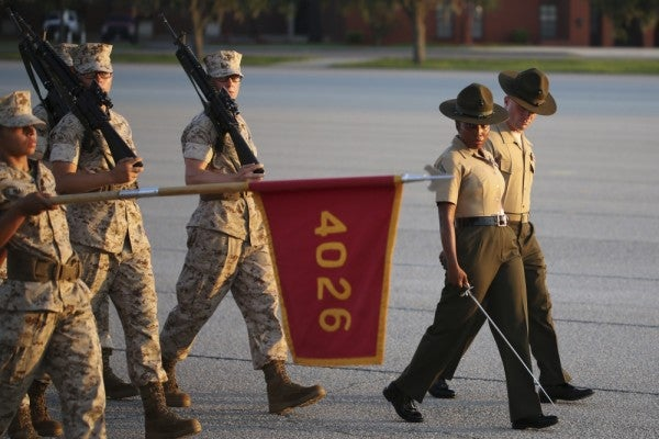Marine Corps may close storied Parris Island and San Diego boot camps to open a new coed site