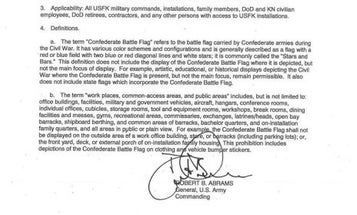Top Army general in Korea issues ban on Confederate flag