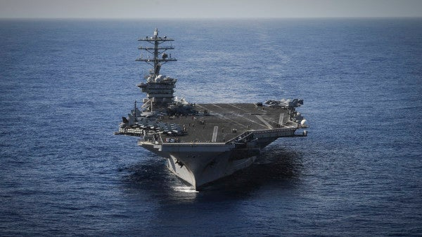 Yet another aircraft carrier has reported a positive COVID-19 case