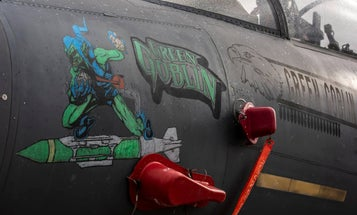 These F-15s dressed up fly as hell for Halloween