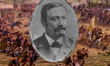 How a Civil War soldier who disobeyed orders earned the Medal of Honor at Gettysburg