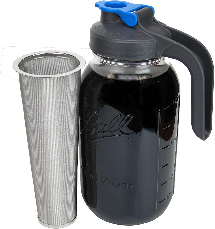 County Line cold brew jar