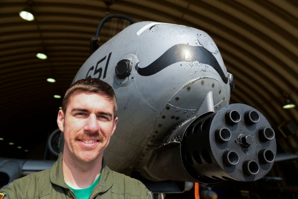 We salute these mustachioed A-10s for making close air support classy AF