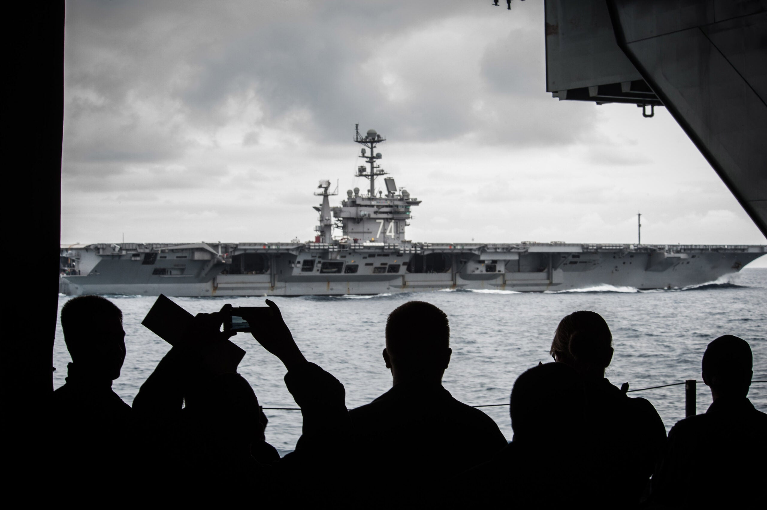 How Navy aircraft carriers have projected US military might all over the world for nearly a century