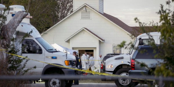Air Force Error Allowed Texas Gunman To Pass Background Checks And Buy Guns