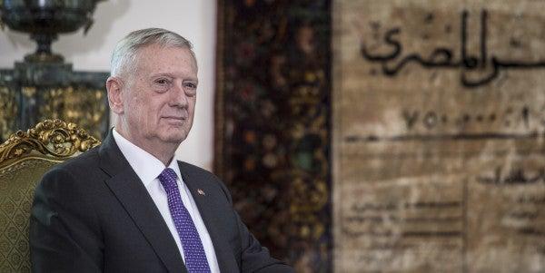 On The Road, Defense Secretary Mattis Is More 'Warrior Monk' Than 'Mad Dog'