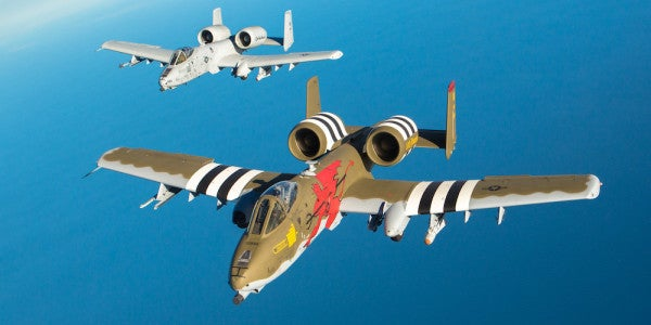 The A-10 Warthog Gets A Boost From Air Force Secretary Heather Wilson