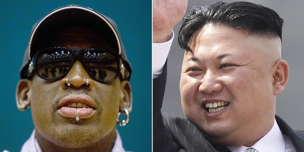 Dennis Rodman Wants To Be Trump's Peace Envoy To North Korea