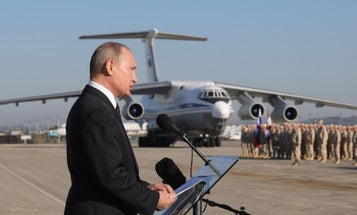 Putin Declares 'Victory' In Syria Over ISIS — And The US, Sort Of