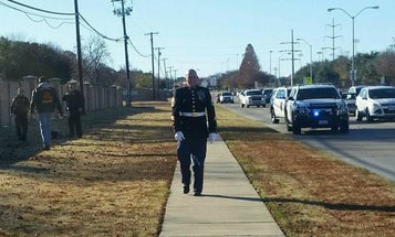 That time a Marine vet chased down a shoplifter during the holidays
