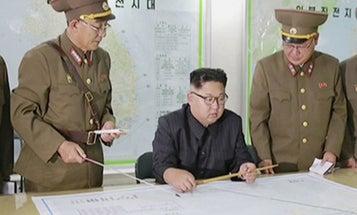 US Hints At Naval Blockade, North Korea Threatens Nuclear War