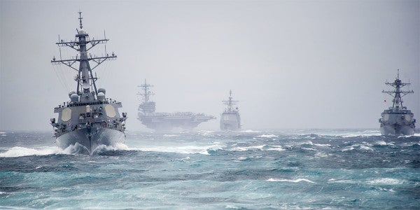 Navy Admits It's Hit A Breaking Point, Searches For A Way Forward
