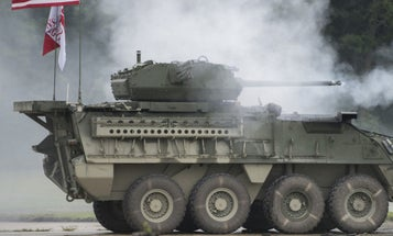 The Army's New Upgunned Strykers Just Rolled Up In Europe To Counter Russia