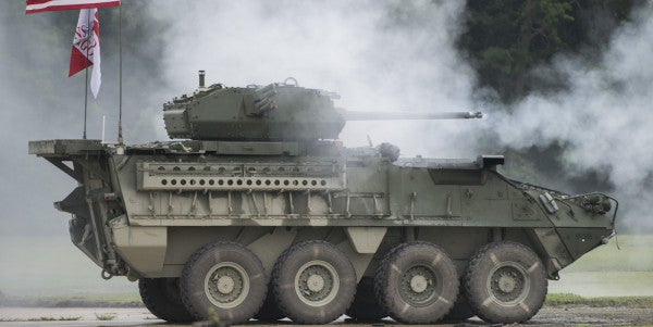 The Army's First Upgunned Strykers Are Headed Overseas In The Near Future