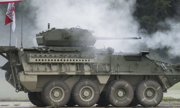 Watch The Army Test Upgraded Stryker Vehicles Meant To Counter Russian Firepower