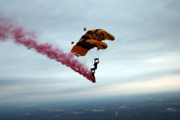 Reported UFO Sighting Near Fort Bragg Was Probably The Army's Golden Knights